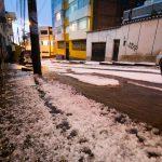 Hagel und Überschwemmung in Puno