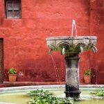 Brunnen im Kloster