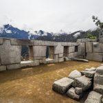Teil eines Tempels von Machu Picchu