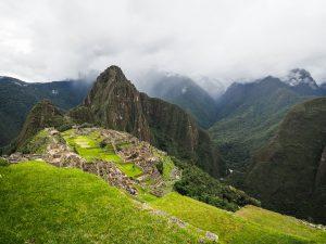 Machu Picchu ohne Nebel