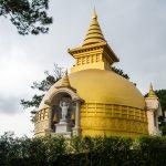 Goldenes Tempeldach in Da Lat