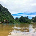 Bootsfahrt zu den Höhlen