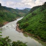 Flusslauf auf unserem Weg nach Long Son