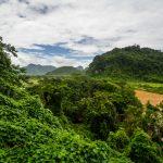Ausblick von der Phong-Nha-Höhle