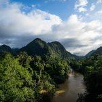 Flussbett im Nationalpark