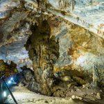 Oschi-Tropfstein in der Paradise Cave