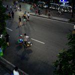 Blick aus einem Cafe in Hanoi