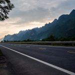 Auf dem Weg nach Cao Bang