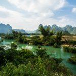 Dieser Fluss speist den Ban Gioc Wasserfall