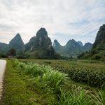 Auf dem Weg von Cao Bang zum Ban Gioc Wasserfall