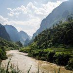 Eine der schönsten Strecken Vietnams