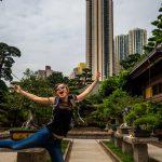 Grazile Balleteinheit im Nam Lian Garden