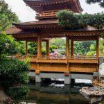 Brücke im Nam Lian Garden