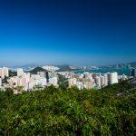 Eine der vielen Buchten in Hongkong
