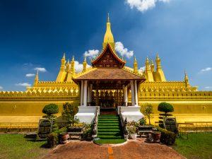 Goldene Pagode in Vientiane