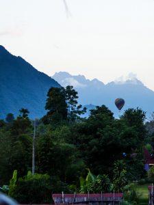 Heißluftballong in Vang Vieng