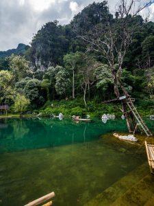Lagune bei Vang Vieng