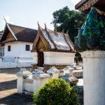 Kleine Nebengebäude des Tempels