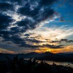 Sonnenuntergang vom Stadthügel