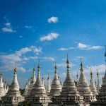 Weißer Tempel in Mandalay