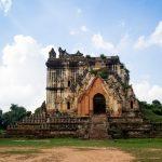 Zerfallenes Gebäude bei Mandalay
