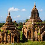Mal wieder zwei Stupas