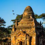 Kleine Pagode in Bagan