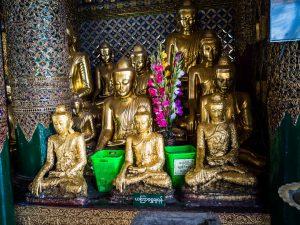 Güldene Buddhas