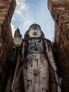 Buddha im Geschichtspark Sukhothai