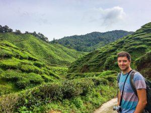 Jung in den Teefeldern