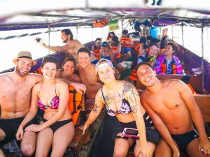 Unsere lustige Truppe von der Island Hopping Tour