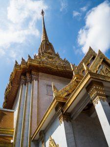 Tempel von unten
