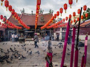 Vorplatz Kuan Yin Temple