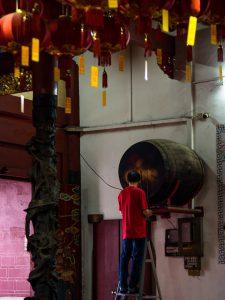 Trommel im Kuan Yin Temple