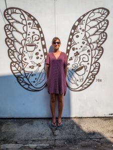 Gibt es einen schöneren Schmetterling? Anmerkung Sabrina: Schleimer...