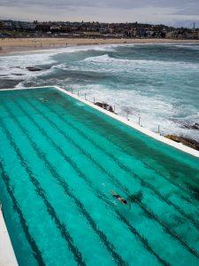 Schwimmen am Bondi Beach