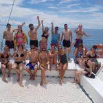 Unsere Gruppe beim Great Barrier Reef