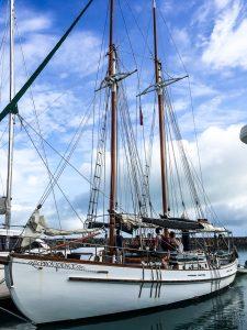 Unser Segelboot zu den Whitsunday Islands