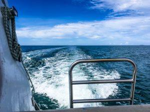 Bootsfahrt zum Great Barrier Reef