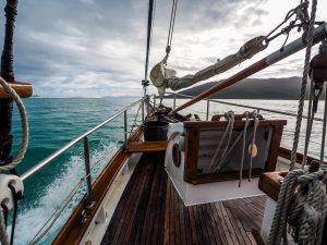 Unser Segelboot