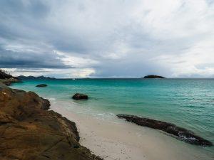 Strand an der Whitsunday Island