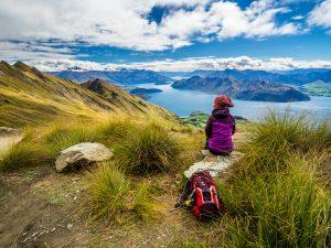 Traumhafte Aussicht auf dem Roys Peak