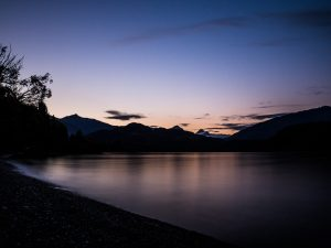 Abendstimmung  am Lake Wanaka