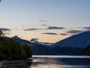 Lake Wanaka, direkt an unserem Campingplatz