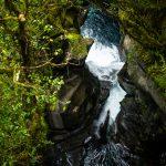 Schlucht am Milford Sound