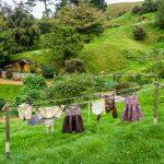 Wäsche waschen müssen die Hobbits auch