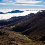 Blick vom Tongariro Crossing