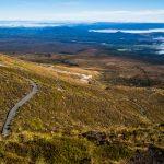 Irgendwo da unten endet der Tongariro Crossing