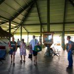 Ankunftshalle Aitutaki