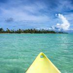 Es gibt schlechtere Orte um Kayak zu fahren
